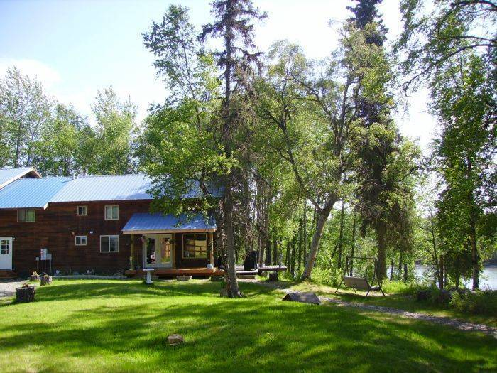 Alaska Riverview Lodge, Kasilof, Alaska, Alaska hotels and hostels