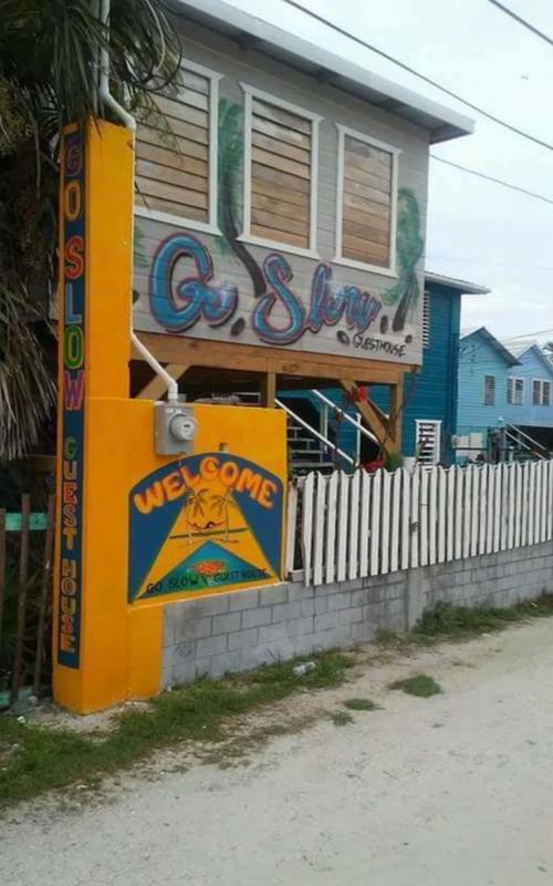 Go Slow Guesthouse, Caye Caulker, Belize, top 5 hotels and hostels in Caye Caulker