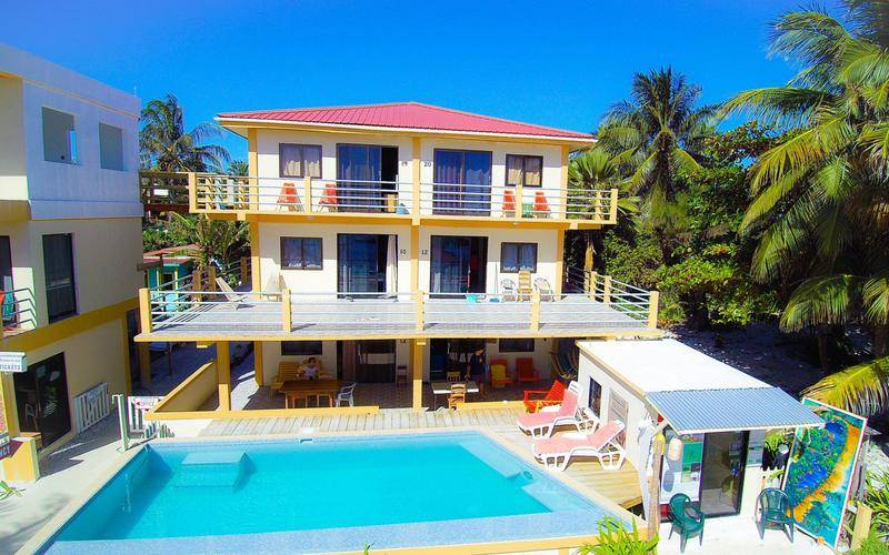 The Club at Caye Caulker, Caye Caulker, Belize, Belize hotels and hostels