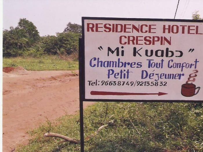Residence Crespin, Abomey, Benin, hotels with air conditioning in Abomey
