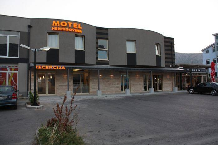 Motel Hercegovina, Mostar, Bosnia and Herzegovina, stay in a hotel and meet the real world, not a tourist brochure in Mostar