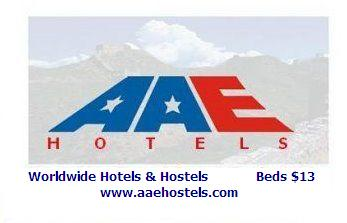AAE Hostels and Hotel San Diego, Old Town San Diego, California, alternative booking site, compare prices then book with confidence in Old Town San Diego