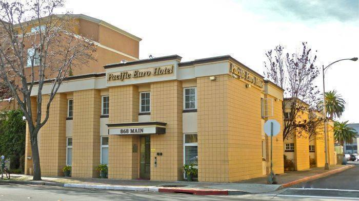 Pacific Euro Hotel, Redwood City, California, California hotels and hostels