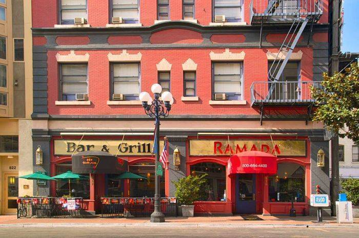 Ramada Gaslamp - Convention Center, Old Town San Diego, California, excellent hotels in Old Town San Diego