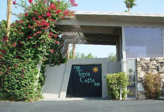 Terra Cotta Inn Clothing Optional Resort, Palm Springs, California, fast online booking in Palm Springs