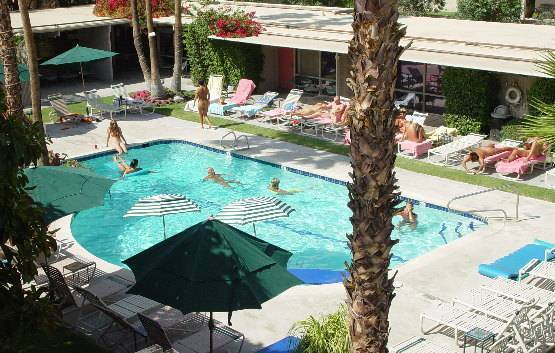 Terra Cotta Inn Clothing Optional Resort, Palm Springs, California, California hotels and hostels