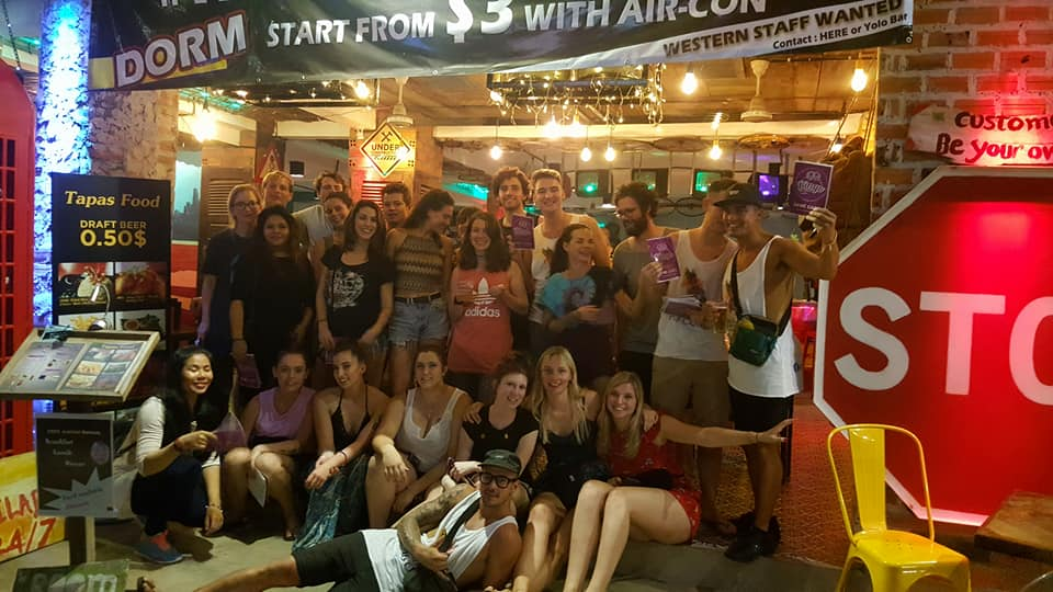 Hangover Hostel and Bar, Siem Reap, Cambodia, Cambodia hotels and hostels