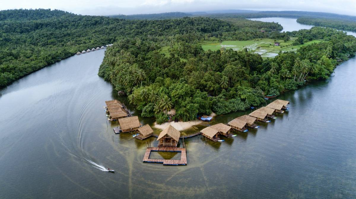 Koh Andet Eco Resort, Krong Kaoh Kong, Cambodia, what is an eco-friendly hotel in Krong Kaoh Kong