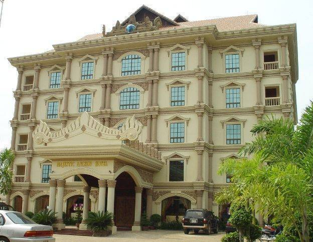 Majestic Angkor Hotel, Siem Reap, Cambodia, Cambodia hotels and hostels