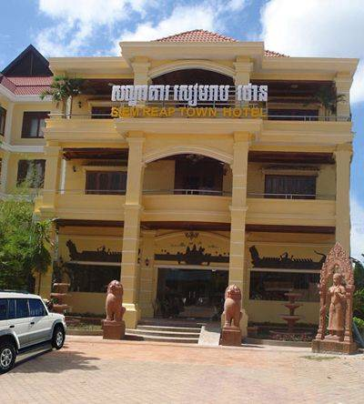 Siem Reap Town Hotel and Spa, Siem Reap, Cambodia, Cambodia hotels and hostels