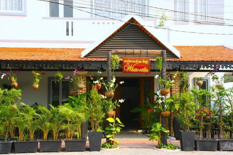 Siem Reap White Villa, Siem Reap, Cambodia, Cambodia hotels and hostels