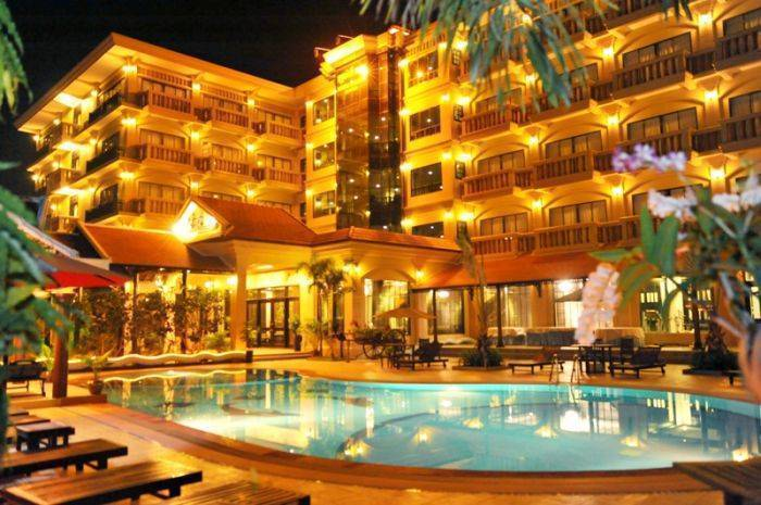 Tsp Lucky Angkor Hotel, Siem Reap, Cambodia, low cost lodging in Siem Reap