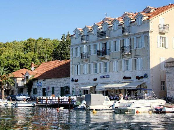 Hotel Sidro Milna, City of Milna, Croatia, affordable accommodation and lodging in City of Milna
