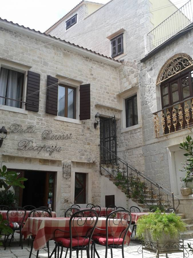 Palace Derossi, City of Trogir, Croatia, Croatia hotels and hostels