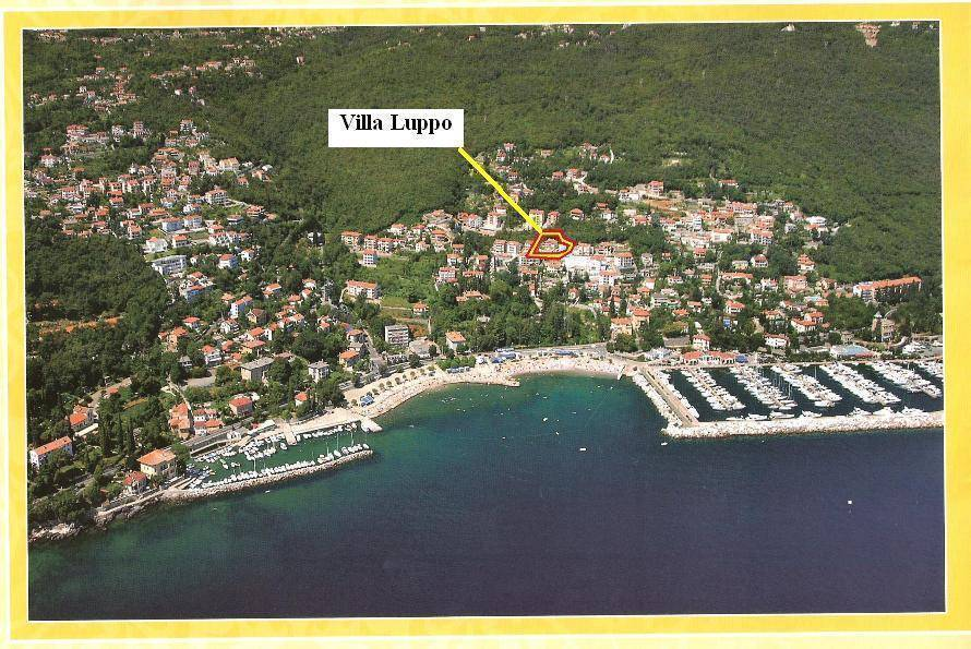 Villa Luppo, Icici, Croatia, hotels with kitchens and microwave in Icici