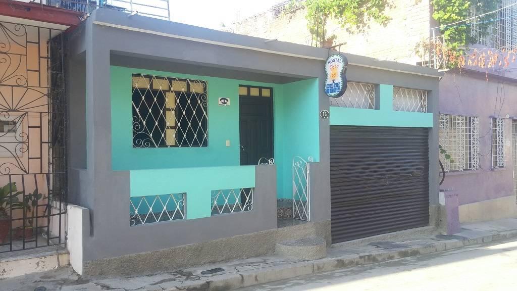 Hostal Casa Sol, Santiago de Cuba, Cuba, backpackers gear and staying in hostels or budget hotels in Santiago de Cuba