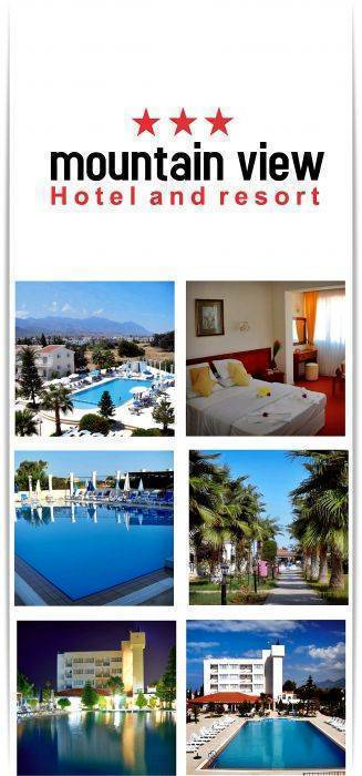Mountain View Hotel, Kyrenia, Cyprus, first-rate hotels in Kyrenia