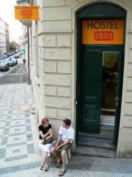 Emma, Prague, Czech Republic, find me hotels and places to eat in Prague