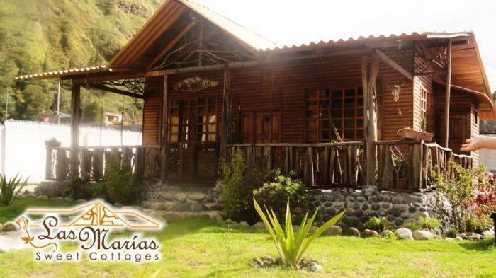 Cabanas Las Marias, Banos, Ecuador, Ecuador 호텔 및 호스텔