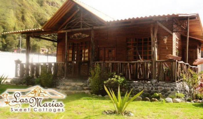 Cabanas Las Marias - Search available rooms for hotel and hostel reservations in Banos 9 photos