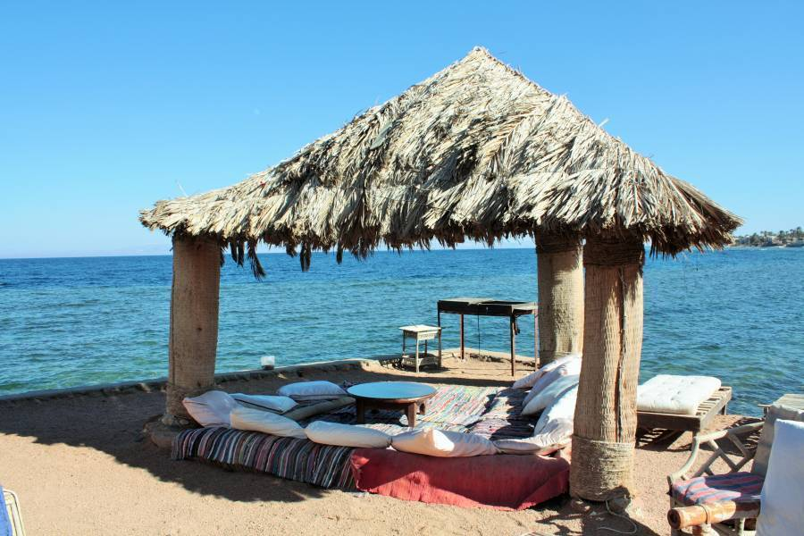 Dahab Bay Hotel, Dahab, Egypt, read reviews from customers who stayed at your hotel in Dahab