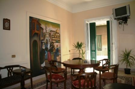 Let Me Inn Hostel, Cairo, Egypt, popular locations with the most hostels in Cairo