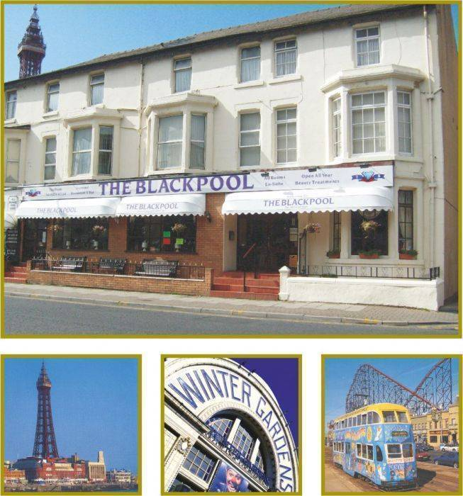 The Blackpool Hotel, Blackpool, England, England hotels and hostels