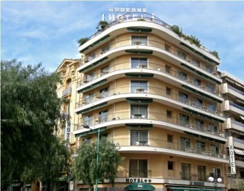 Hotel Moderne, Menton, France, France hotels and hostels