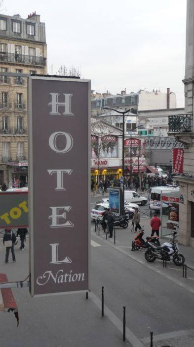 Nation Hotel, Paris, France, France hotels and hostels