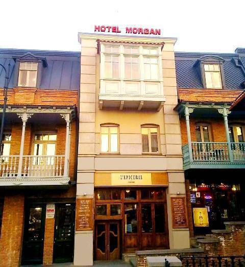 Hotel Morgan, Tbilisi, Georgia Republic, places with top reputations and hostels in Tbilisi