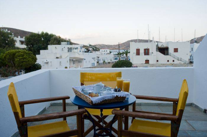 Avra Pension, Ios, Greece, cities with the best weather, book your hotel in Ios
