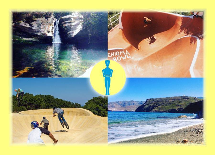 Bluenigma Riding Hotel, Andros, Greece, hotels and hostels with the best beaches in Andros