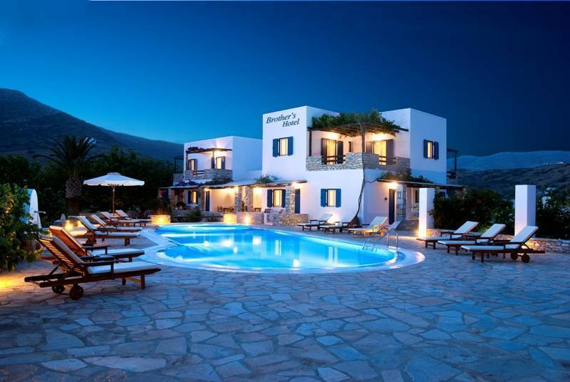 Brother's Hotel, Ios, Greece, Greece hotels and hostels