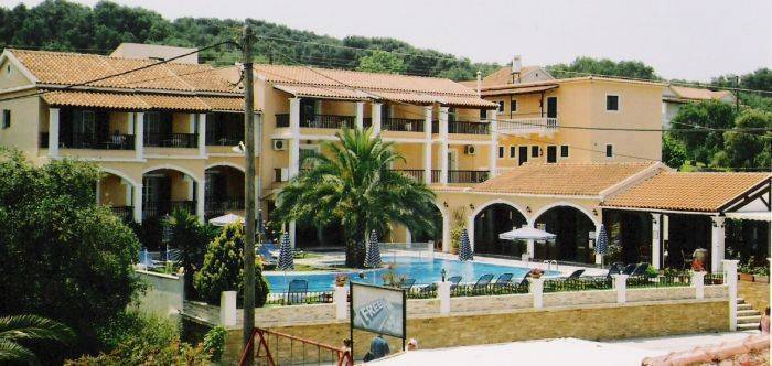 Perros Hotel, Corfu, Greece, Greece hostels and hotels