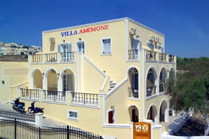 Villa Anemone, Thira, Greece, hostels and backpacking in Thira