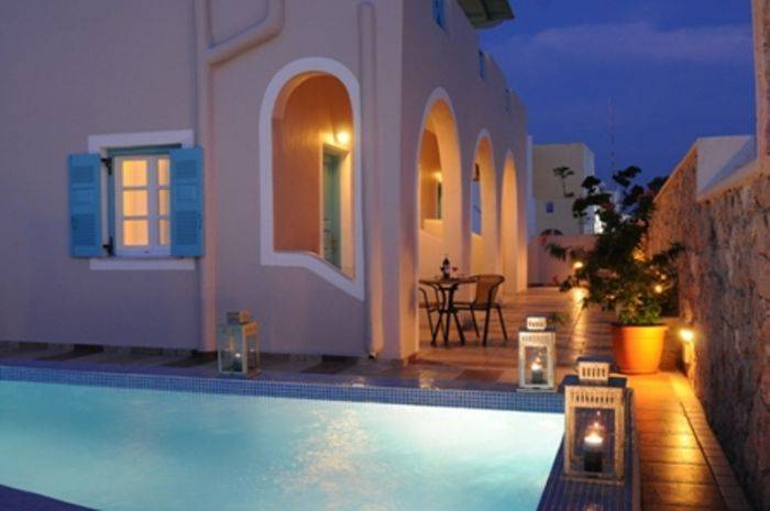 Villa Rose, Thira, Greece, Greece ホテルとホステル
