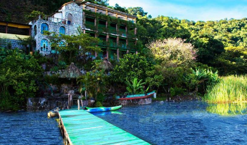 Eco Hotel Uxlabil Atitlan - Get low hotel rates and check availability in San Juan La Laguna, book exclusive hotels 23 photos