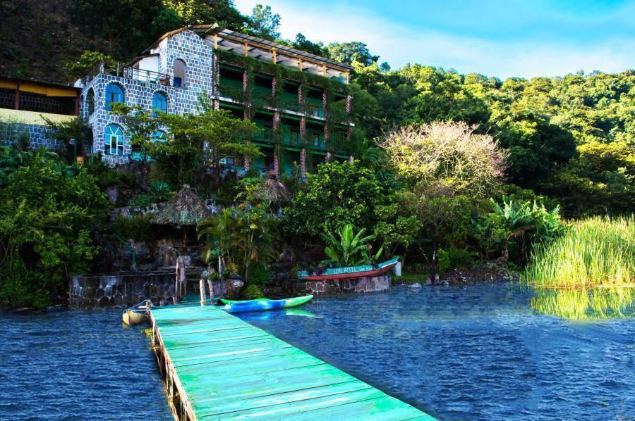 Eco Hotel Uxlabil Atitlan, San Juan La Laguna, Guatemala, Guatemala hotels en hostels