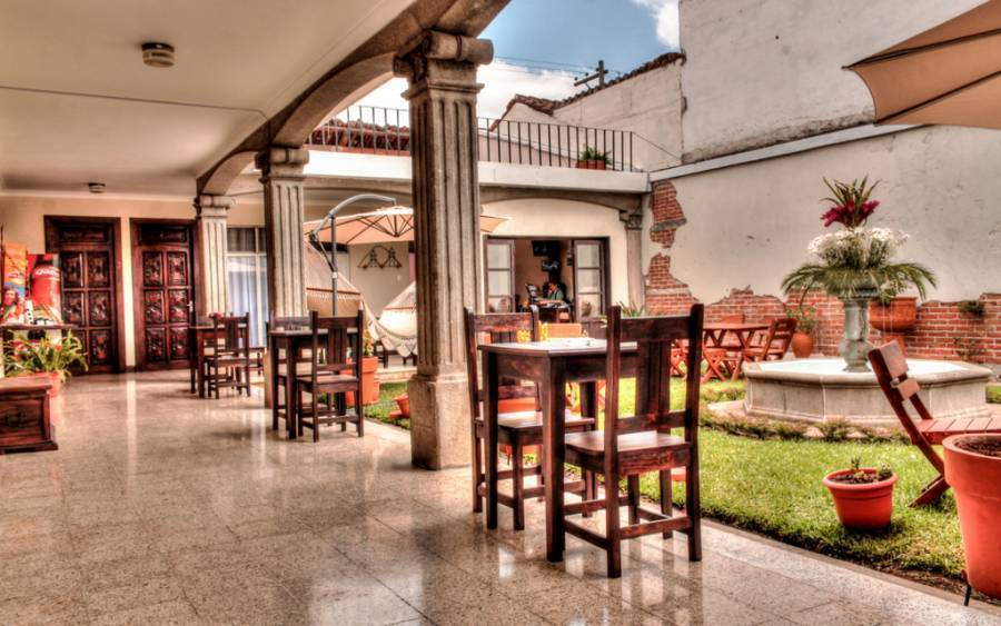 Hostal Posada de San Carlos, Antigua Guatemala, Guatemala, how to use points and promotional codes for travel in Antigua Guatemala
