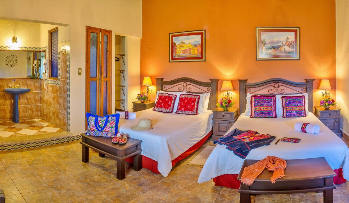 Hotel Casa del Parque, Antigua Guatemala, Guatemala, best hostels for couples in Antigua Guatemala