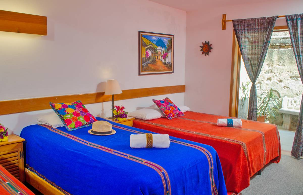 Hotel Panchoy, Antigua Guatemala, Guatemala, hotels near the museum and other points of interest in Antigua Guatemala