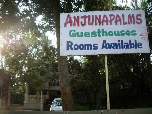 Anjunapalms Guesthouses, Anjuna, India, India hotels and hostels