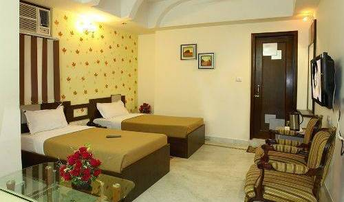 Hotel Ananda - Search for free rooms and guaranteed low rates in Karol Bagh, holiday reservations 9 photos