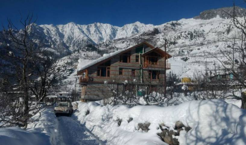 Peak and Snow Cottage - Search for free rooms and guaranteed low rates in Manali, hotel bookings 1 photo