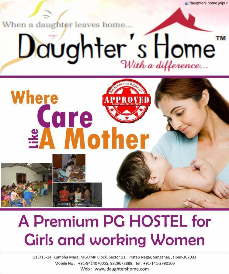 Daughter's Home, Jaipur, India, India hotels and hostels