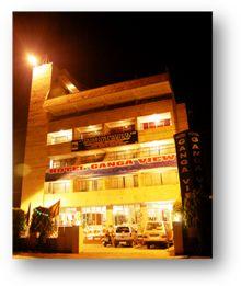 Hotel Ganga View, Rishikesh, India, India hotell och vandrarhem