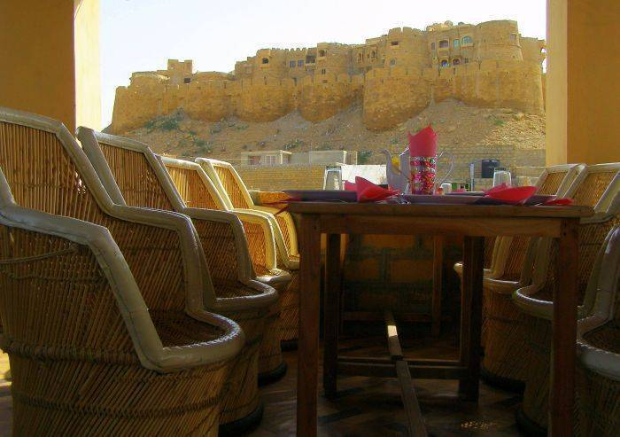 Hotel Jeetmahal, Jaisalmer, India, hostels, special offers, packages, specials, and weekend breaks in Jaisalmer