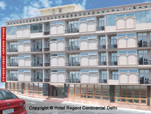Hotel Regent Continental, New Delhi, India, what are the safest areas or neighborhoods for hotels in New Delhi