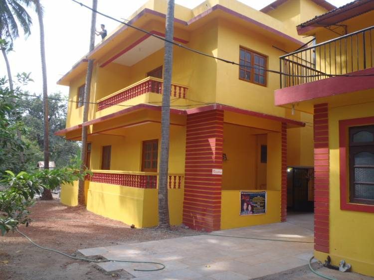 Jacqueline Residency, Calangute, India, how to select a hotel and where to eat in Calangute