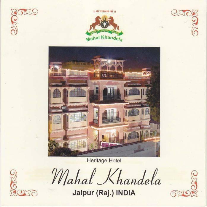 Mahal Khandela, Jaipur, India, India hotels and hostels